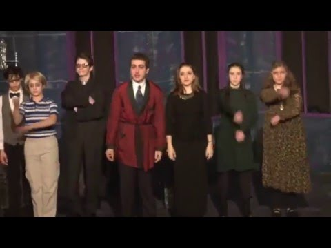 SAR HS DRAMA SOCIETY PRESENTS: THE ADDAMS FAMILY A NEW MUSICAL  (2015)