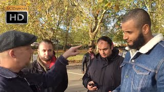 P1 - Porn Ruined me! Muhammed Hijab Vs Amish Visitor | Speakers Corner | Hyde Park