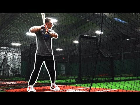 Alex Bregman Hitting In The Batting Cages (MLB Offseason Training) | Breg And The Boys Ep. 9