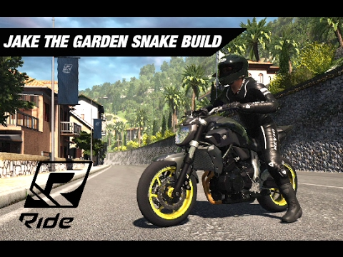 Jake The Garden Snakes Fz 07 Build Ride Youtube