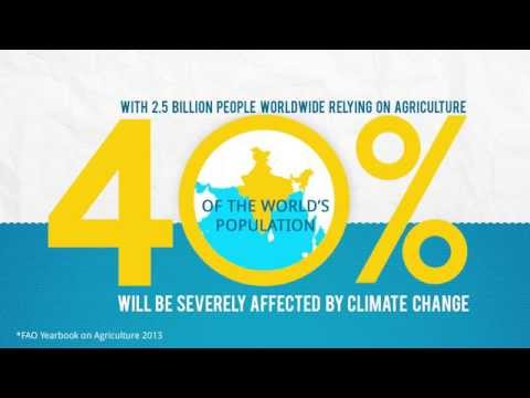 Climate Change and Agriculture through Infographics