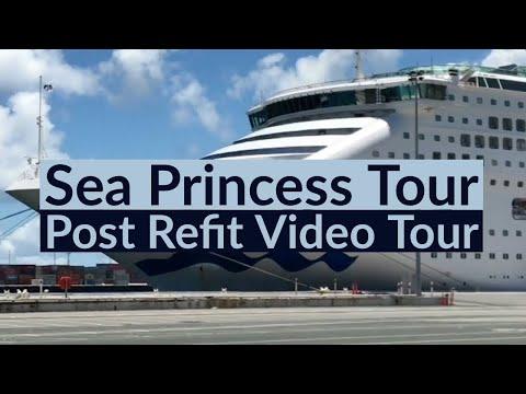 Sea Princess Full Tour - First Look Following Major 2017 Refurbishment