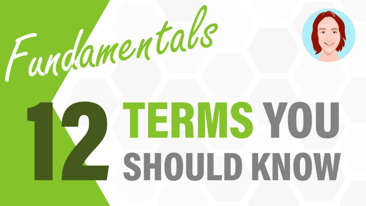 12 Terms You Should Know   Project Management Fundamentals. Check out our project management tutorial video on 12 key terms that we think everyone should know (from beginners to experts). If you want to learn about mo.... Youtube video for project managers.