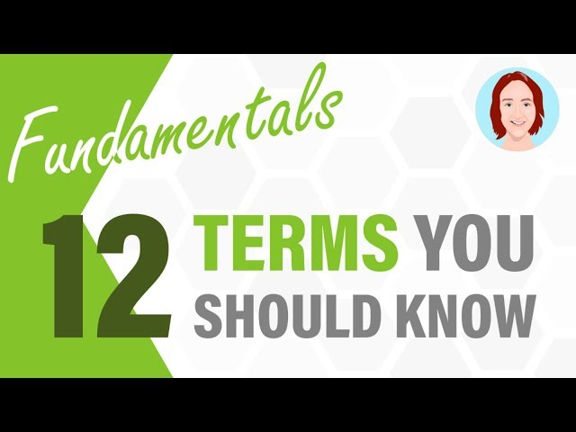 12 Terms You Should Know | Project Management Fundamentals