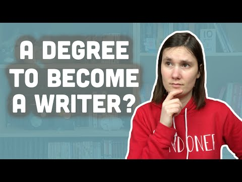 Do you need a degree in Creative Writing to be a writer? | Writing series