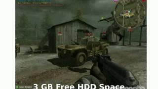 Battlefield 2 Euro Force PC - Minumum Requirements