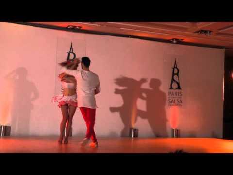 Show de «Judith Borzasi & Paul Bucur» au Paris Salsa Congress 2016 – www.salsa-guide.fr