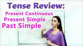 Tense Review Present Simple, Present Continuous, Past Simple . Pre-intermediate Lesson 1
