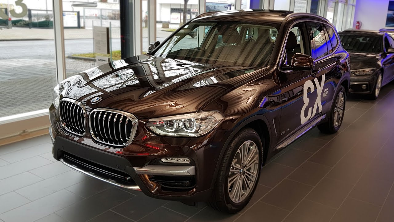 Bmw X3 2017 Interior >> 2018 BMW X3 xDrive20d Modell Luxury Line | -[BMW.view]- - YouTube