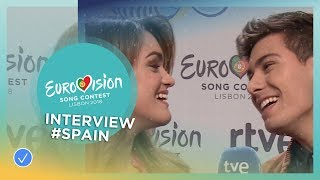 Meet Alfred and Amaia from Spain 🇪🇸- 2018 Eurovision Song Contest