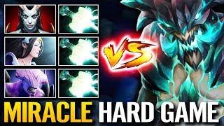 Miracle [Outworld Devourer] Hard Game Top 10k MMR Dota 2 Insane Comeback