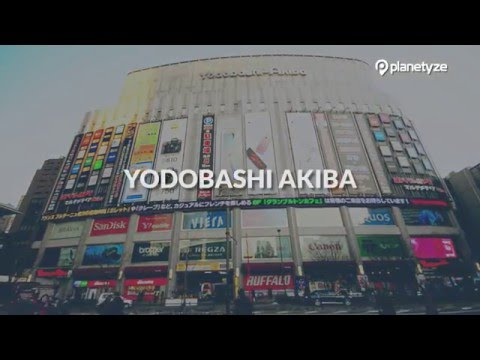 Yodobashi Akiba, Tokyo -  a Huge Mall-sized Electronics Store | One Minute Japan Travel Guide