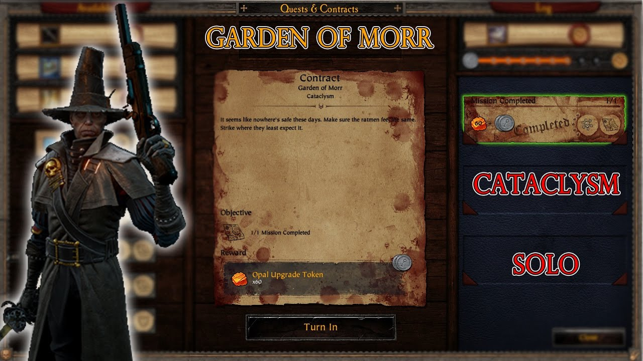 Warhammer: End Times - Vermintide - Garden of Morr (Cataclysm - Solo ...