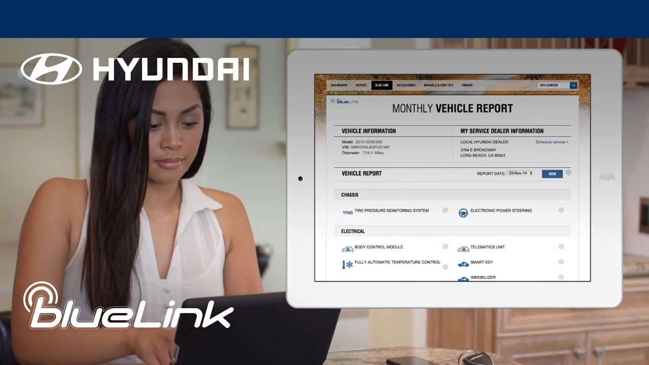 How to Set Up Your Blue Link® Account | Hyundai