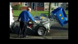 Wheelie Bin Cleaning Trailer By Mth Tool Hire