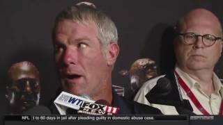 "Brett Favre Interview ""I had the most fun."""