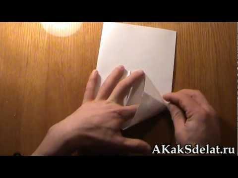 Как из бумаги сделать пакет