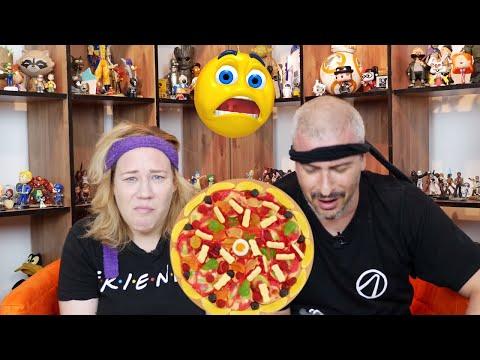 פיצה מסוכריות!! ( אתגר דוחה במיוחד )