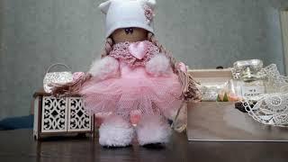 Обзор интерьерной куклы для начинающих.