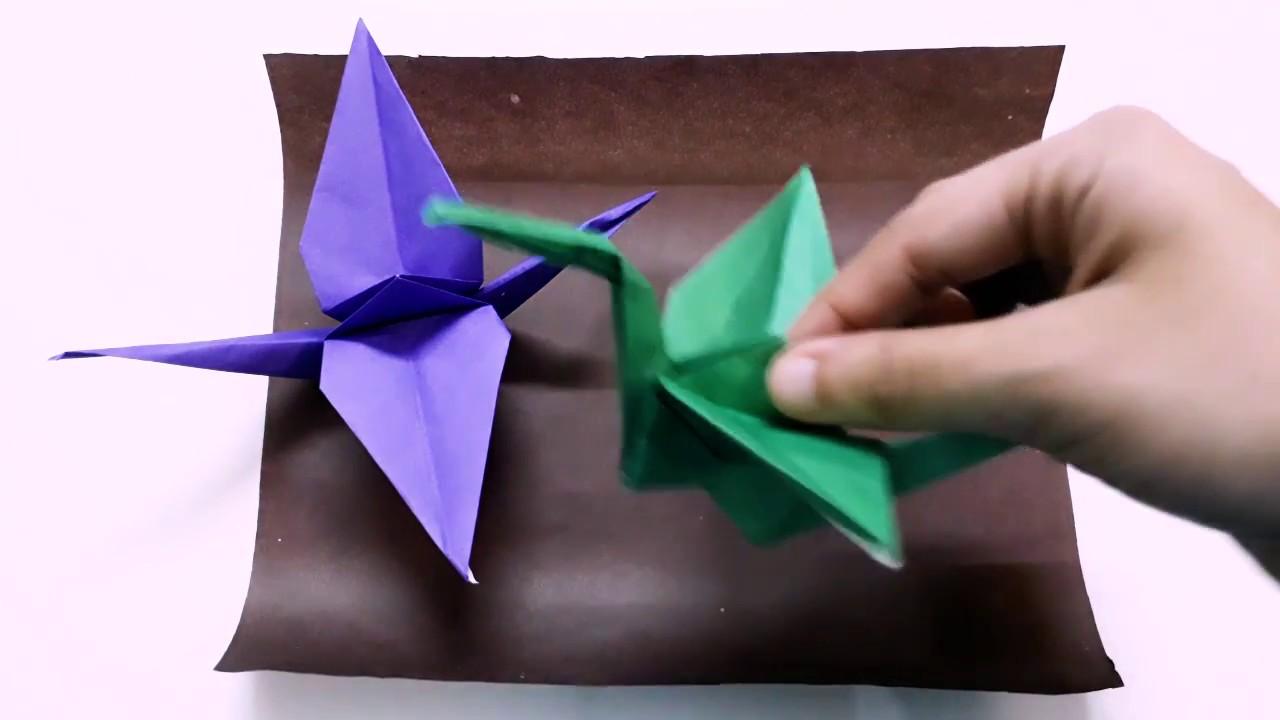 Folding Paper Cranes Origami