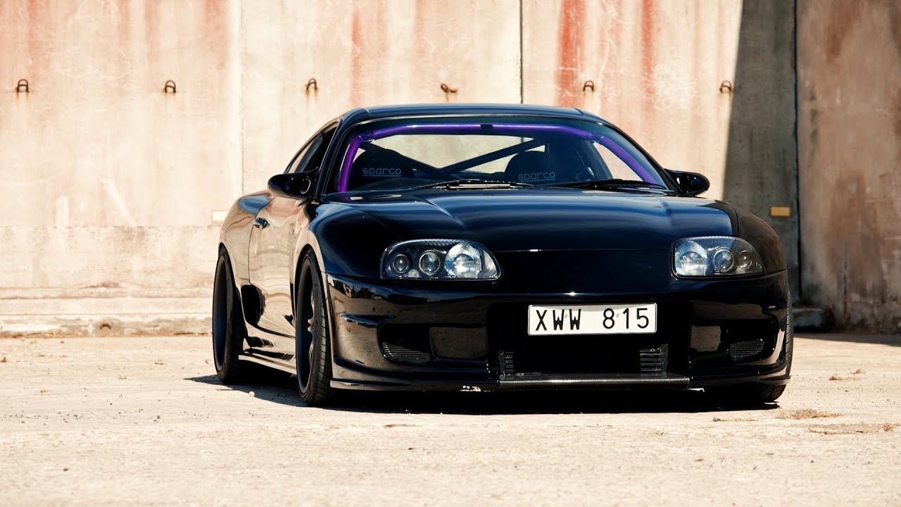 Amazing Toyota Supra Sounds Drifts Accelerations  Tribute to