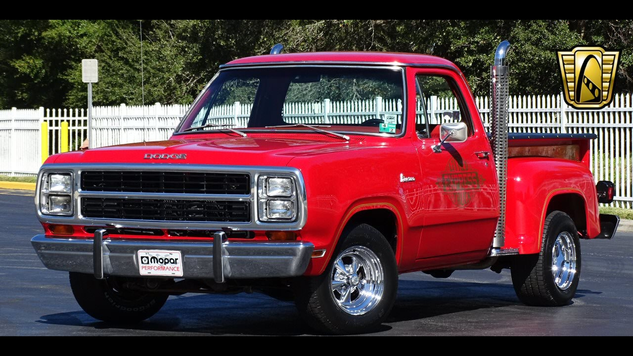 1979 Dodge Little Red Express Gateway Classic Cars Orlando ...