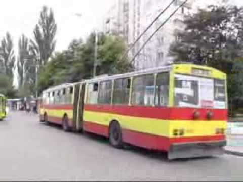 троллейбусы skoda