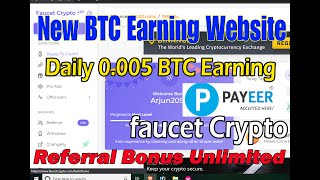FAUCET CRYPTO REVIEW | ONLINE EARNING IN NEPAL  | EARN FREE SATOSHI EVERY 40 MINUTES | PAYEER