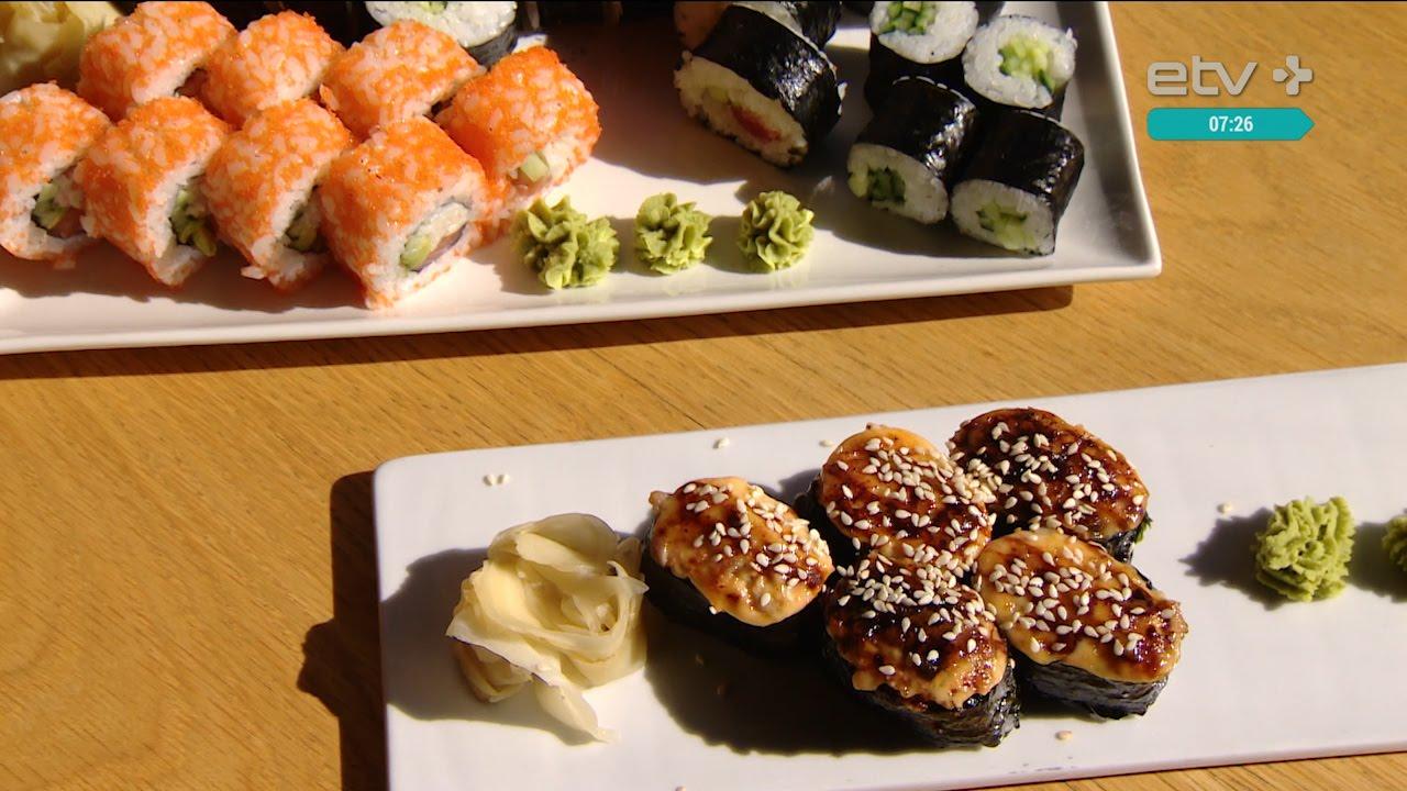как приготовить настоящие суши