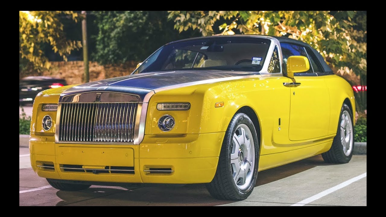 916cecbf0e11 Spotting Scott Disiks 1 of 1 YELLOW ROLLS ROYCE That Could Be Worth  MILLIONS!!