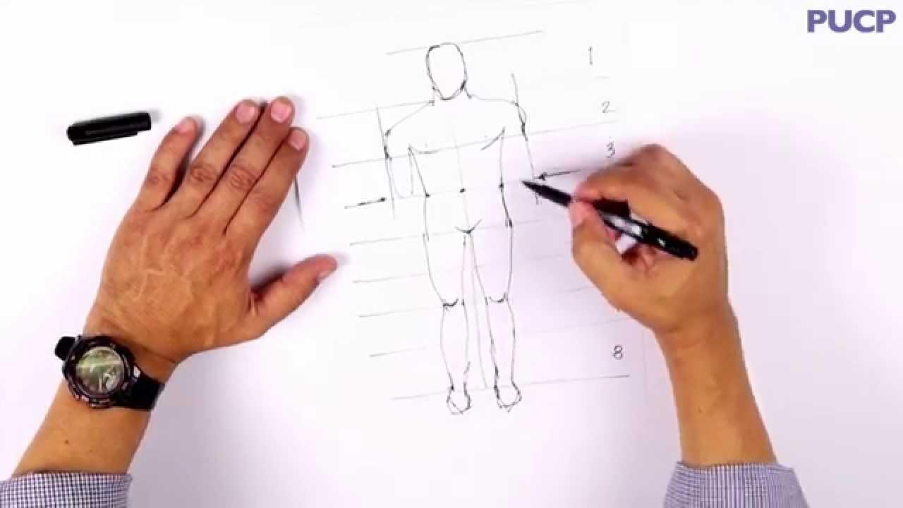 PUCP  Cmo dibujar un cuerpo humano  YouTube