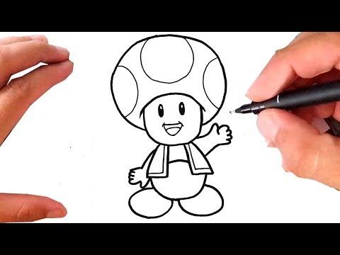 Mp3 Id3 Como Desenhar Toad Cogumelo Super Mario Bros
