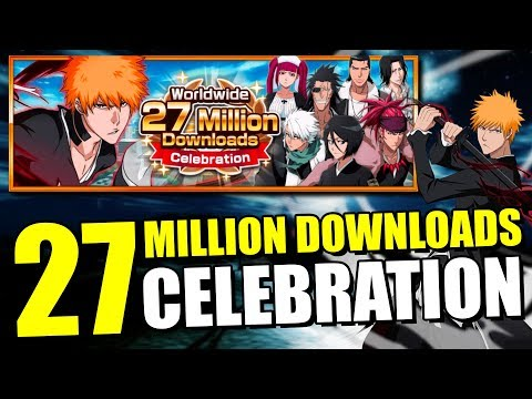 27 MILLION DOWNLOADS SUPER POWER UP SET & MORE FREE ORBS Bleach Brave Souls