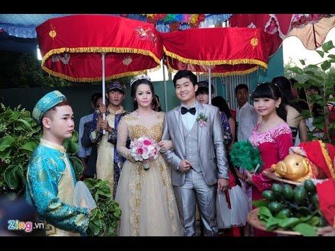 Đám cưới tưng bừng của Nhật Kim Anh ở quê nhà