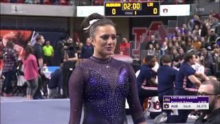 Lexie Priessman (LSU) 2019 Bars vs Auburn 9.925