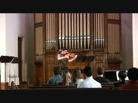 JS Bach, Solo Cello Suite #3: II. Allemande