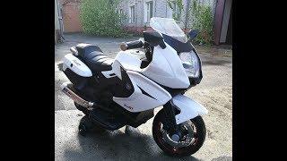 электро мотоцикл обзор детского электро мотоцикла F 316 GT