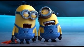 Repeat youtube video Best Of The Minions - Despicable Me 1 and Despicable Me 2