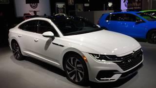 Volkswagen Walkthrough at Detroit auto show