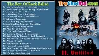 Tuyển tập nhạc Rock Rock Ballad hay nhất mọi thời đại 2013 The Best Of Rock Ballad 2013