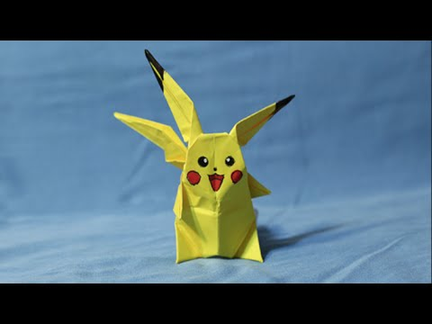 How To Make An Origami Pikachu Youtube