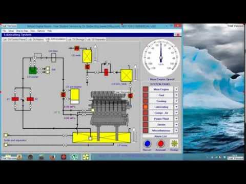 tutorial virtual engine room, desde caida de planta hasta arrancar el motor