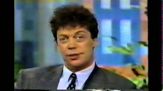 Tim Curry promoting Me & My Girl on Kelly & Co during 1988. Include...