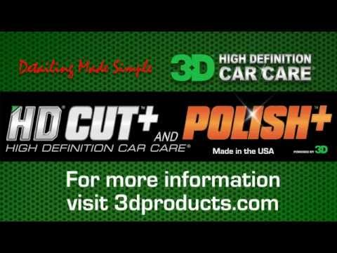 How to use HD Cut with a dual action polisher