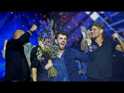 فوز الهولندي دانكن لورانس في مسابقة -يوروفيجن- ومادونا تثير الجدل  - نشر قبل 17 دقيقة