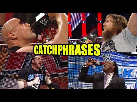 Catch up on the Best WWE Catchphrases!