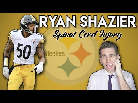 Doctor explains Ryan Shazier spinal cord injury
