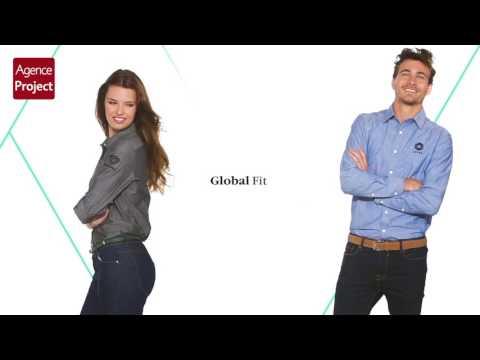 Video Chemises Manches Longues Lucky Slazenger avec Marquage Publicitaire