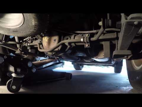 Lifting your Nissan Xterra Using Proper Lift Points