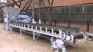 видео Линия сортировки твердых бытовых отходов